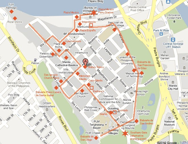 DIY Walking Tour - Intramuros